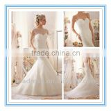 WDBG-2603 New Luxrious Sparkling Beading Organza Wedding Dresses Bridal Wedding Gowns