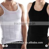 2015 men's Slim Singlet Belly Underwear brand compression shapewear slim body shaper