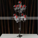 China tall large floor standing candelabra