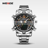 Mens watches top brand water resistant 3atm stainless steel jewelry quartz movement sports watch