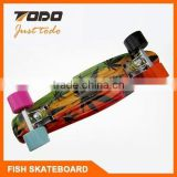 The best Bamboo Skate Longboard / Fish Skateboard