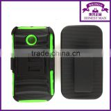 Holster Phone Case with Kickstand and Locking Belt Swivel Clip For Nokia small MOQ acceptable