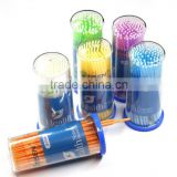 disposable dental micro brush/micro applicator/micro brush applicator tips with beautiful color