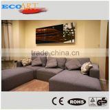 Electric wall mounted radiant aluminium frame heater panel