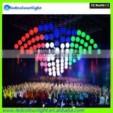 christmas Kinetic lighting/Stage Led Lift Ball/Colorful DMX LED Lift Ball lighting/led sphere ball