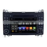 7 Inch 2 din 1024 600 car dvd player with GPS for Benz Sprinter W906
