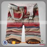 stripe custom cargo bermuda mens wholesale cotton short shorts