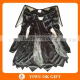 Pretty Halloween Costume Black Bat Wings Dress for Kids