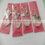 custom metal keychain,apple/heart /star shape photo frame key chain,photo-frame key holder