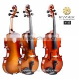 hot sale girl palying violin cheapest Maple Chinese violin Deviser V10