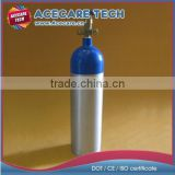 Medical cylinder,aluminum gas cylinders for oxygen,tank+valve
