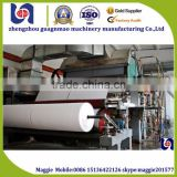 Line of production for toilet tissue reel roll Paper Napkins Tissue Paper Machinery Line