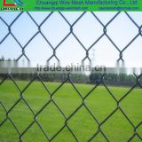 Golden supplier PVC Coated cyclone wire mesh fence Chain link fence