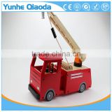 Fire Truck Toy , Extending Ladder and Water Pump Hose to Shoot Water, Bump and Go