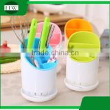 kitchen multipurpose double plastic table fork knife spoon chopsticks tableware holder storage case bin container box