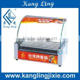 commercial hot dog roller machine