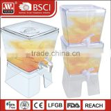 Guangzhou China HAIXIN plastic honey juicer dispenser