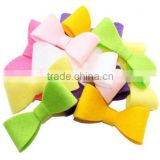 hot sale new products handmade eco friendly fabric decoration felt bow tie made in china wholesale on alibaba website
