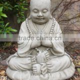 China factory wholesale stone carvings and sculptures hand carved natural marble buddha statues