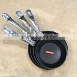 stainless steel nonstick diecasting deep frying pan