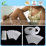 China Supplier Smooth disposable non woven hair removal waxing/ depilatory waxing strips