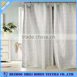 White Home Goods Roller Blind Shower Curtains