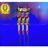 Sky Rocket Toy Consumer Fireworks Remote Assorted Pack Double Ball for Us EU Europe South America Africa Russia CE Fuegos Artificiales