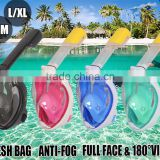 Full Face Swimming Snorkel Mask Scuba Diving Snorkelling Easy Breath