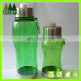 350L 750ML Promotion plastic PCTG Tritan Drinking water bottle Cup with aluminum carabiner BPA FREE 350ml 750ml