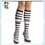 Cheap Black and White Striped Sexy Knee High Stockings HPC-2472