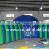 HOT sale inflatable tent with long tunnels