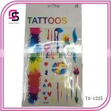 2015 fashion body temporary tattoo sold well