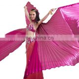 BestDance high quality belly dance isis wings adult bellydance costume angel isis wings open on the back OEM