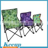 Hot Sale Advertising lightweight aluminum mini folding chair camping from china