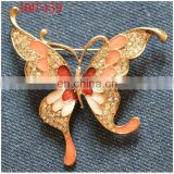 new fashion metal butterfly brooch