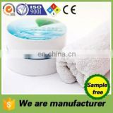 compressed 100% cotton round white or color towels and free sample