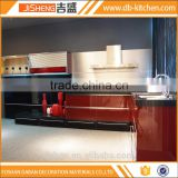 China factory directly mdf kitchen cabinet design in color combinations