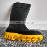 winter black lady rubber safety boots wholesale