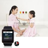 High quality Europe CE ROHS Smart watch with Heart rate monitor and temperature test