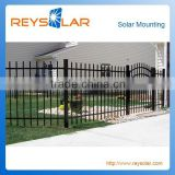 Solar Power Electric Fence Security Guard Railing Protective Barriers