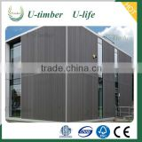 eco-friendly WPC wall panel for house wall cladding UV-protect and water-proof