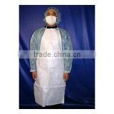 Disposable medical surgical aprons waterproof breathable microporous aprons for hospital