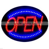 OPEN business LED sign animated shop bright neon light
