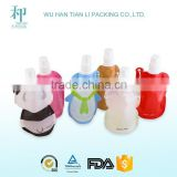 Chinese supplier customizable stand up pouch printing/liquid food packaging/spout pouch stands for juice packaging
