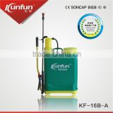 16L PP tank knapsack hand sprayer with water level