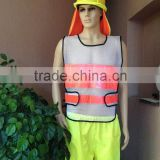 Reflective Safety Vest For Construction Traffic & Warehouse & light mesh safety vest