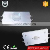 Optical lens covered high power osram led 12v 310Lm CE Rohs certification best quality led advertising module for billboard