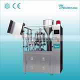 Alibaba automatic plastic tube juice filling and sealing machine plastic bag filling and sealing machine soft tube filling