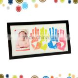 Family baby ink print pad frame kit