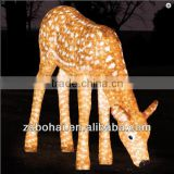 3D led motif light deer
